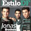 Nick Jonas, Kevin Jonas, Joe Jonas, The Jonas Brothers - Estilo Df Magazine Cover [Mexico] (28 January 2013)
