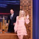 Dakota Fanning on 'The Tonight Show Starring Jimmy Fallon' in NY - 454 x 657
