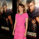 22nd January, 2013: Lucy Lawless attends the 'Spartacus: War of the Damned' LA Premiere, Los Angeles, CA