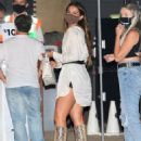 Addison Rae – Celebrates her mom's birthday at Nobu in Malibu