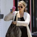 Elizabeth Berkley arrived at the Real Food Daily eatery in West Hollywood, California on June 21, 2012