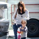 Selma Blair is seen at the farmer's market in Studio City CA January 4,2015