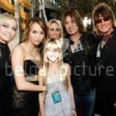 Richie Sambora, Tish Cyrus, Miley Syrus and Billy Ray Cyrus