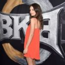Emily Ratajkowski attends BKB 2, Big Knockout Boxing, at the Mandalay Bay Events Center on April 4, 2015 in Las Vegas, Nevada