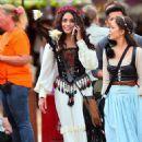 Vanessa Hudgens at the Renaissance Pleasure Faire in Irwindale, CA May 7, 2016