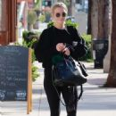 Ashlee Simpson – Leaving a gym in Studio City