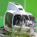 Jamie Dornan shoots scene with Charlie Tango for Fifty Shades