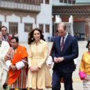 Duchess of Cambridge and Prince William : Paro International Airport