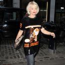 Kimberly Wyatt at The Ivy Soho in London - 454 x 731