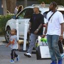 Blac Chyna and Tyga Throw King Cairo a 5th Birthday Party at Six Flags Magic Mountain in Los Angeles, California - October 14, 2017 - 454 x 497