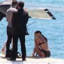 Isabeli Fontana in Bkini Photoshoot in Cannes - 454 x 303