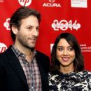 Jeff Baena and Aubrey Plaza