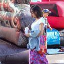 Jenna Dewan at Farmer's Market in Los Angeles