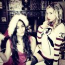 Vanessa Hudgens and Ashley Tisdale: twitter photo