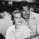 Grace Kelly and Clark Gable in Mogambo