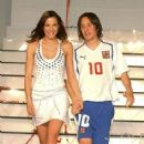 Tomas Rosicky and Radka Kocurova - 414 x 450
