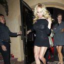 Pamela Anderson: Sexy Sheer in Beverly Hills
