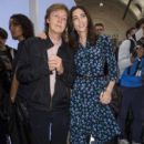 Sir Paul McCartney and Nancy Shevell attends the Hunter Original show during London Fashion Week Spring Summer 2015 at on September 13, 2014 in London, England