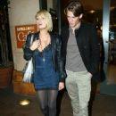 Paris Hilton With Model Boyfriend Alex Vaggo In Hollywood 2007-11-26 - 454 x 642