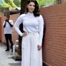 Sunny Leone – Arriving at her home in Mumbai