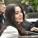 Monica Bellucci – Arriving at Vivement Dimanche TV show in Paris - 454 x 336