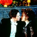 Eric Stoltz as Lawrence Seldon and Gillian Anderson as Lily Bart in Sony Pictures Classics' The House of Mirth - 2000