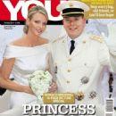 Prince Albert II and Charlene Wittstock - 454 x 595