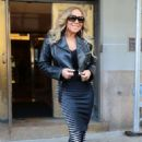 Mariah Carey – Heads out to promote her new album 'Caution' in NY - 454 x 681