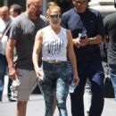 Jennifer Lopez – Leaving her workout in NYC