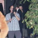 Miranda Kerr and Evan Spiegel – Leaving Gwyneth Paltrow Black Tie Event in LA - 454 x 565