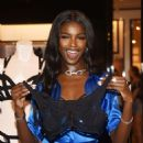 Victoria's Secret Angel Leomie Anderson Debuts New Fall Collection - 454 x 602