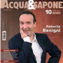 Roberto Benigni - Acqua & Sapone Magazine Cover [Italy] (December 2014)