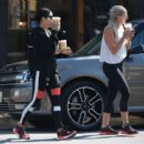 Vanessa Hudgens in Spandex heading to the gym in LA - 454 x 417