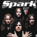 Jürgen Reil, Mille Petrozza, Christian Giesler, Sami Yli-Sirniö - Spark Magazine Cover [Czech Republic] (February 2012)