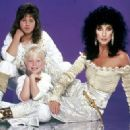 CHER & Children Chastity Bono & Elijah Blue Allman Bono Get Dressed For 2nd People Magazine Shoot 1-25-82