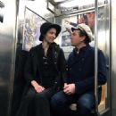 Mary Elizabeth Winstead and Ewan McGregor – Hold hands while riding the NYC Subway - 454 x 601