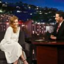 Amy Adams at 'Jimmy Kimmel Live' in Los Angeles
