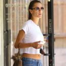 Alessandra Ambrosio – Seen at a Spa in Los Angeles - 454 x 681