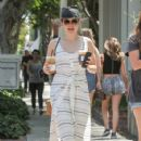Sophia Bush is seen out and about in Los Angeles CA July 1, 2016