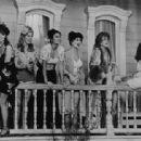 Titles: Cannery Row People: Debra Winger, Mary Margaret Amato, Ellen Blake, Kathleen Doyle, Sharon Ernster, Brenda Hillhouse, Audra Lindley, Colleen O'Grady, Mariko Tse - 454 x 312