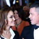 Angelina Jolie and Brad Pitt - British Academy Film Awards 2014 (February 16, 2014)