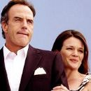 Richard Burgi and Claudette Mink