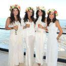 Ali Landry Moll Anderson Goddess Party In Malibu