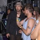 Gerard Butler Dances the Night Away at Coachella