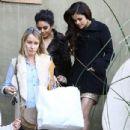 Selena Gomez & Vanessa Hudgens head to the Golden Globes in Los Angeles, California on January 13th, 2013