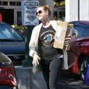 Amy Adams in Spandex out in West Hollywood