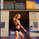Yvonne Strahovski - Self Magazine, Scans
