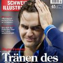 Roger Federer - Schweizer Illustrierte Magazine Cover [Switzerland] (7 November 2011)