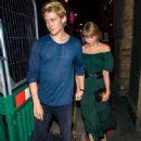 Taylor Swift and Joe Alwyn at Hawksmoor steak restaurant in London