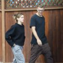 Emma Watson – Seen with a friend at Superba Cafe in Venice - 454 x 681
